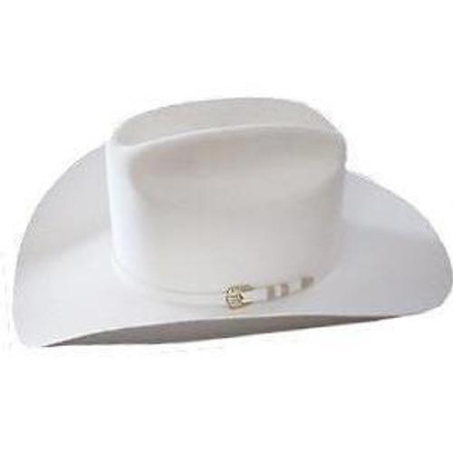 3e3a389c4e7 1000X Stetson Diamante Hat Made With Premium Chinchilla Beaver - White ...