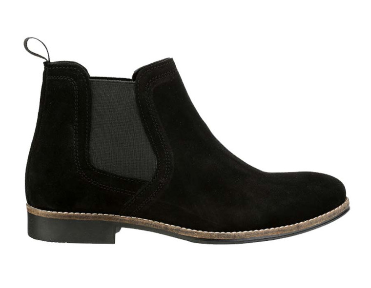 Red Tape Stockwood Black Suede Chelsea Boots