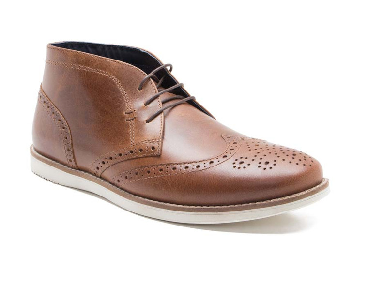 Red Tape Mens Aldford Leather Chukka Boots - Tan
