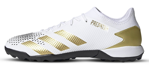 adidas Predator 20.3 Turf -  White/Gold/Black