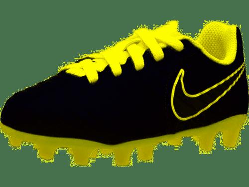 Nike Junior Tiempo Legend VII Club MG - Dark Grey/Opti Yellow/Black - IMAGE 1