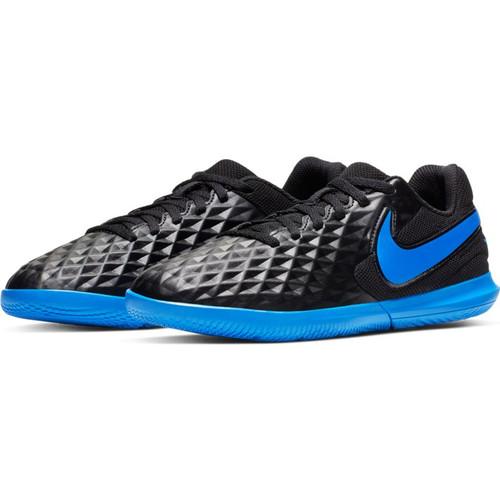 Nike Junior Tiempo Legend VII Club IC - Black/Blue Hero - IMAGE 1