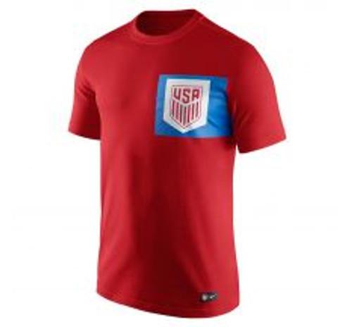 Nike USA Men's NK Crest Tee