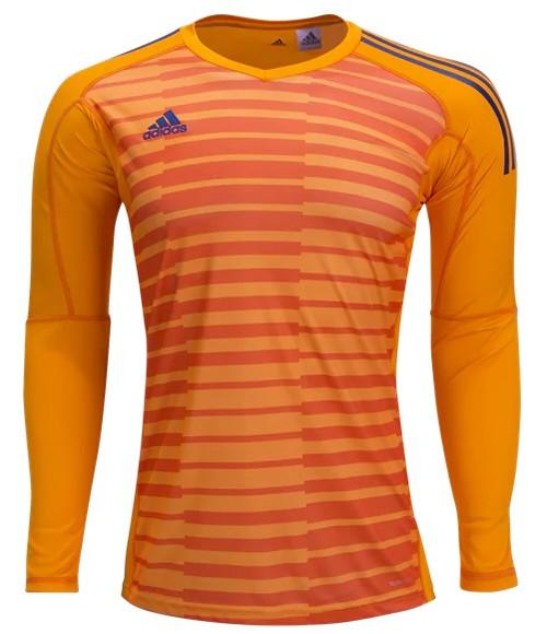 adidas adiPro 18 LS Goalkeeper Youth Jersey - Lucky Orange/Orange/Unity Ink - IMAGE 1