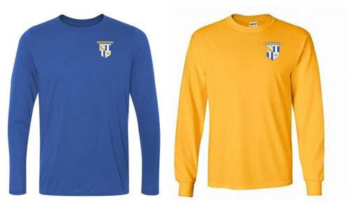LYSA Long Sleeved T-Shirt - Royal or Gold - IMAGE 1