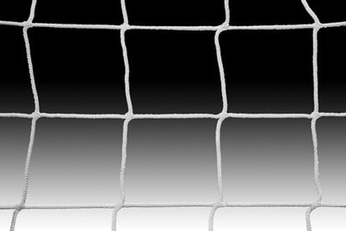KWIKGOAL Soccer Net - 8H x 24W x 3D x 8 1/2B, 120mm mesh, Solid Braid Knotless - IMAGE 1