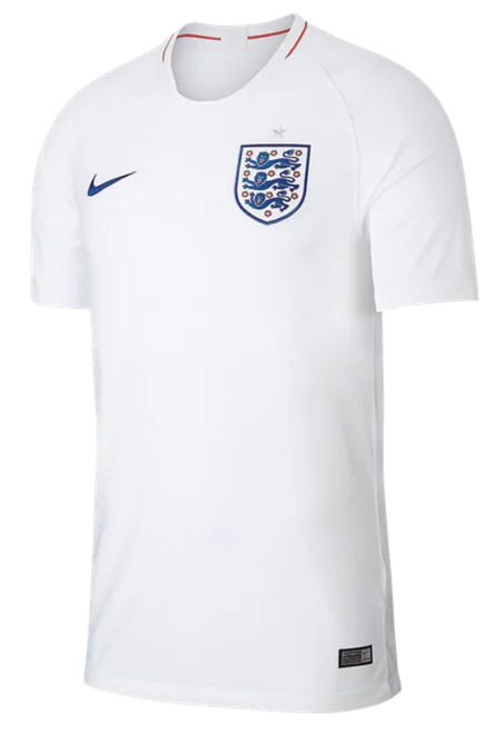 Nike England 2018 Home Jersey - IMAGE 1
