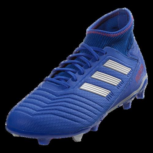 adidas Predator 19.3 FG - Bold Blue/Silver Metallic/Active Red - IMAGE 1