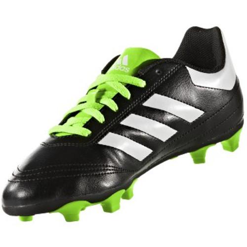 adidas Goletto VI FG J - Core Black/Ftwr White/Solar Green - IMAGE 1