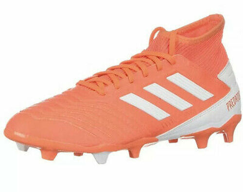 adidas Women's Predator 19.3 FG - Coral/White
