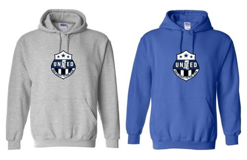 GCU Hooded Sweatshirt - Royal or Sport Grey - IMAGE 1