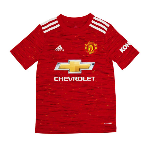 adidas Manchester United Youth Home Jersey 20/21 - IMAGE 1