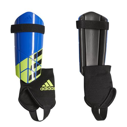 adidas Youth X Shinguard - Blue/Solar Yellow/Black - IMAGE 1