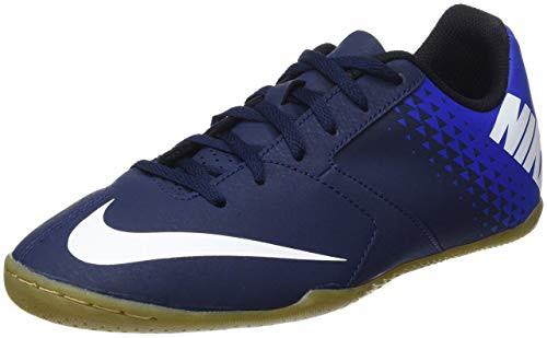 Nike Junior Bomba X IC - Obsidian/White/Racer Blue - IMAGE 1