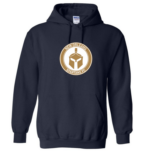 Spartans Hooded Sweatshirt - Black - IMAGE 1