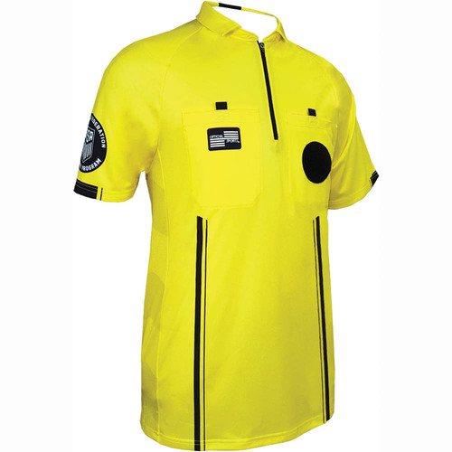 Official Sports USSF Pro Jersey - Yellow - IMAGE 1