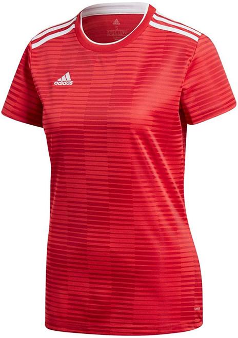 adidas Women's Condivo 18 Jersey - Power Red/White