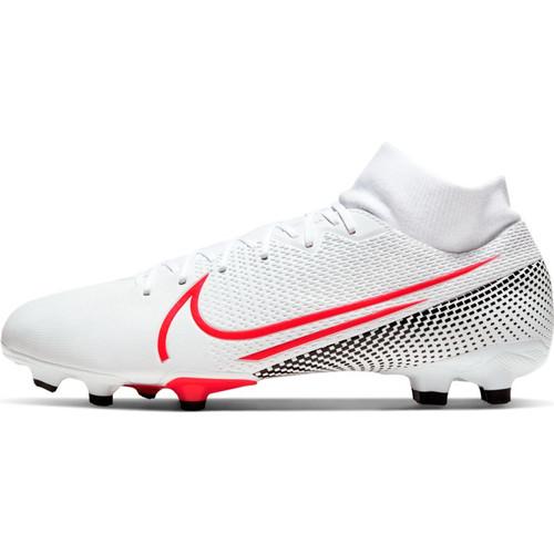 Nike Mercurial Superfly 7 Academy FG - White/Laser Crimson/Black - IMAGE 1
