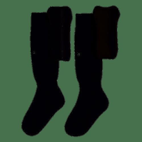 adidas Youth Sock Guard - Black/White - IMAGE 1