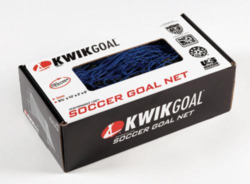 KWIKGOAL Junior Recreational Net - 6 1/2H x 12W x 2D x 6B, 120mm mesh, Solid Braid Knotless - IMAGE 1