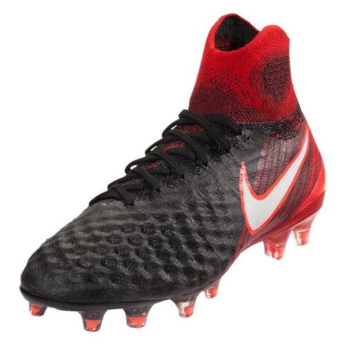 Nike Junior Magista Obra II FG - Black/White/University Red - IMAGE 1