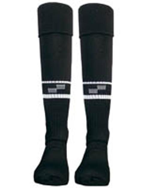 Official Sport US Soccer Referee Sock - Black - IMAGE 1