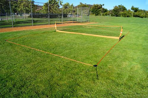 Bownet 18' Soccer Tennis Court - IMAGE 1