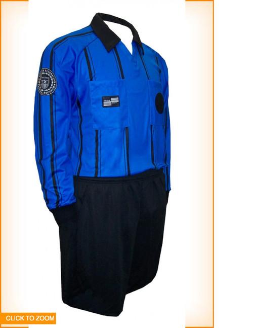 Official Sport Longsleeve Economy Jersey - Blue - IMAGE 1