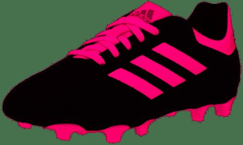 adidas Junior Goletto VI FG - Black/Shock Pink/White - IMAGE 1
