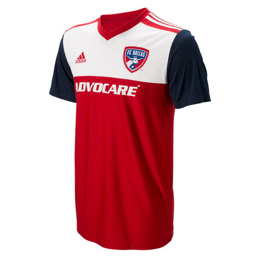 adidas FC Dallas 2018 Youth Home Jersey - IMAGE 1