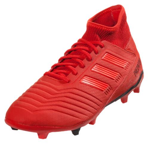 adidas Predator 19.3 FG - Active Red/Solar Red/Core Black - IMAGE 1