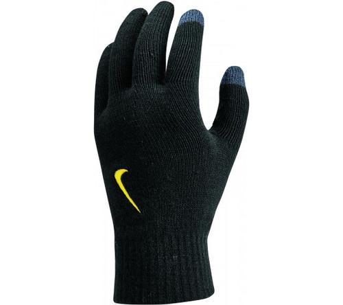 Nike Knit Tech Grip Gloves - Black/Anthracite/Metallic Gold - IMAGE 1