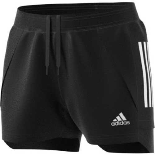 adidas Women's Condivo 10 Training Short - Black/White - IMAGE 1