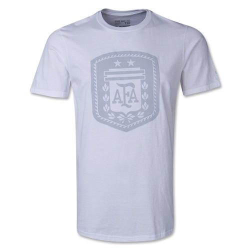 adidas Men's Argentina Logo Tee - White - IMAGE 1