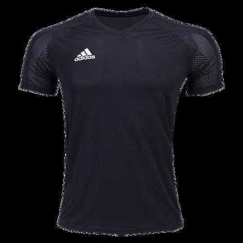 adidas Tiro 17 Training Jersey - Black/White - IMAGE 1