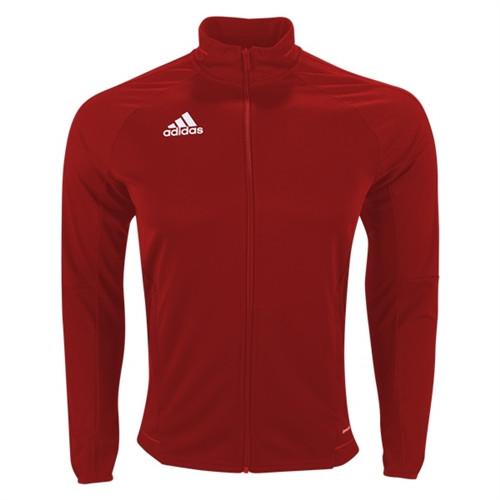 adidas Tiro 17 Training Jacket - Bold Red/White - IMAGE 1