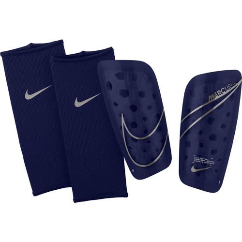 Nike Mercurial Lite Shinguard - Blue Void/Metallic Silver - IMAGE 1