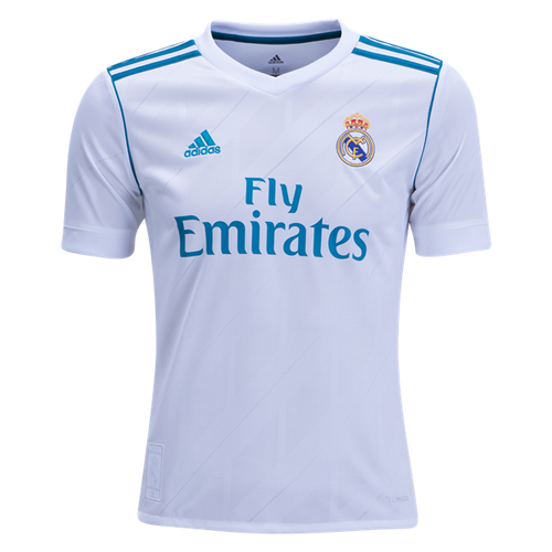 adidas Real Madrid Youth Home Jersey 17/18 - IMAGE 1