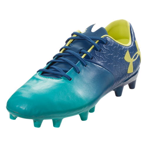 Under Armour Magnetico Premiere FG - Teal Punch/Moroccan Blue - IMAGE 1