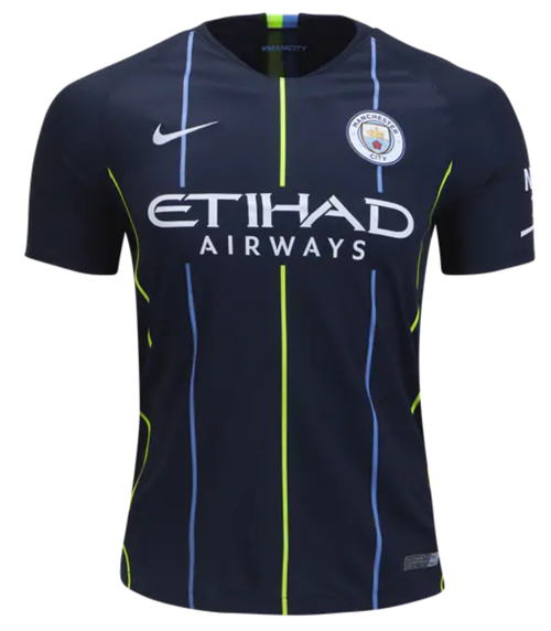 Nike Manchester City FC Away Jersey 18/19 - IMAGE 1