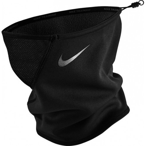 Nike Therma Sphere Neck Warmer - Black/Tumbled Grey/Silver - IMAGE 1