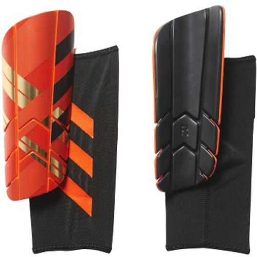 adidas Ghost Pro Shinguard - Solar Red/Gold Metallic/Black - IMAGE 1