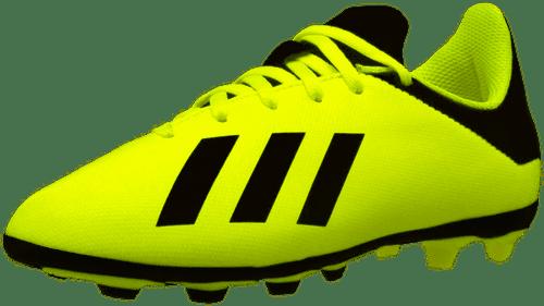 adidas Junior X 18.4 FxG - Solar Yellow/Black - IMAGE 1