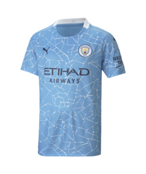Puma Youth Manchester City FC Home Jersey 20/21 - IMAGE 1