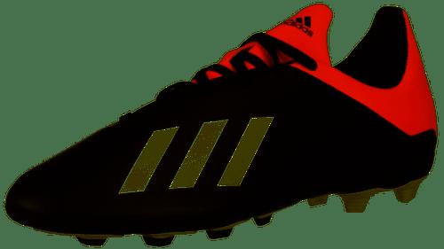 adidas Junior X 18.4 FxG - Core Black/Off White/Active Red - IMAGE 1