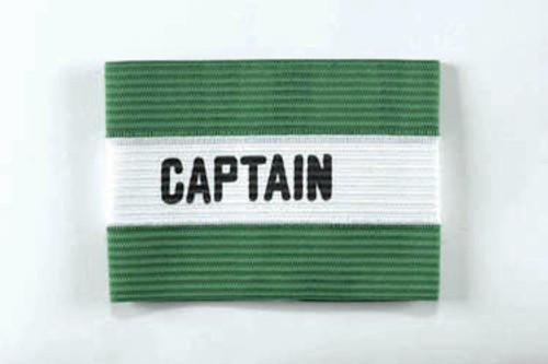 KWIKGOAL Adult Captain Arm Band - Green - IMAGE 1