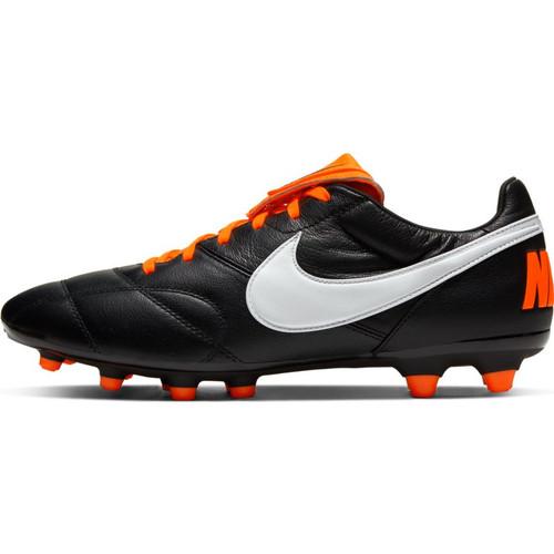 Nike Premier II FG - Black/White/Total Orange - IMAGE 1