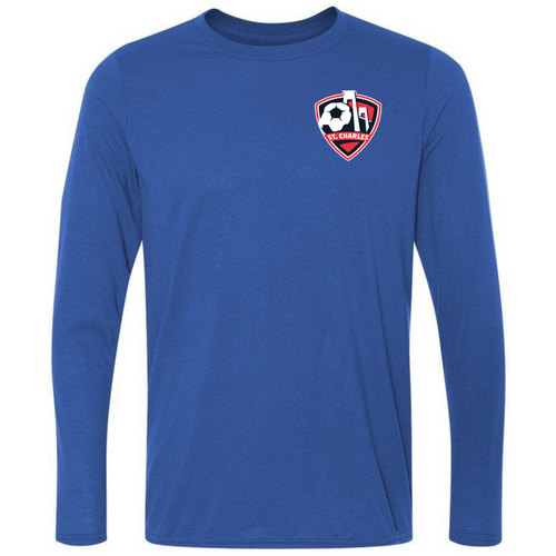 SCSL L/S Performance Tee - Royal - IMAGE 1