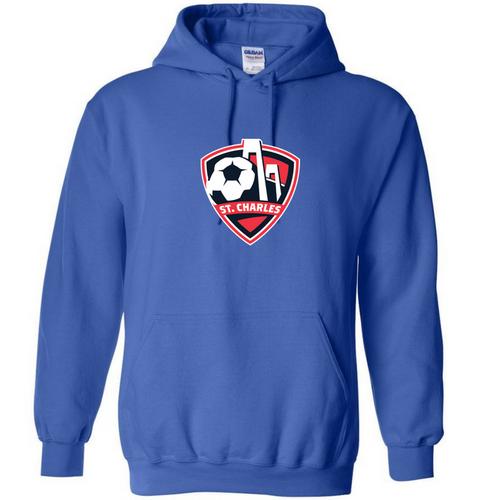 SCSL Hooded Sweatshirt - Royal - IMAGE 1