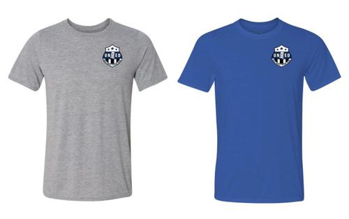 Gulf Coast United SS T-Shirt - Grey or Royal - IMAGE 1